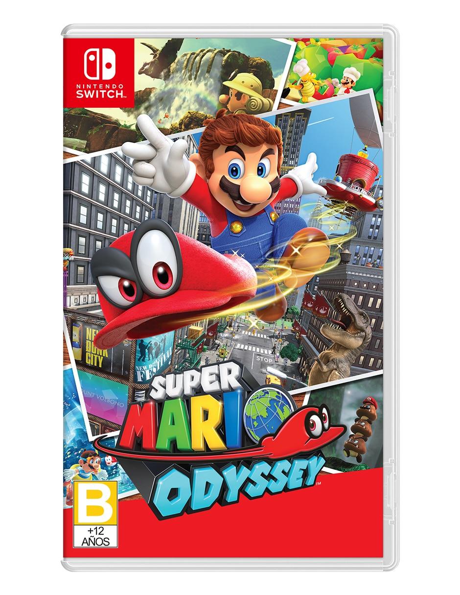 hotel Mal humor frecuentemente  Super Mario Odyssey Edición Estándar para Nintendo switch Juego Físico en  Liverpool