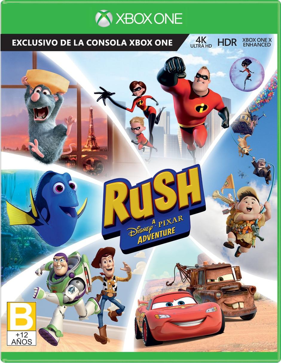 Rush Una Aventura De Disney Pixar Xbox One
