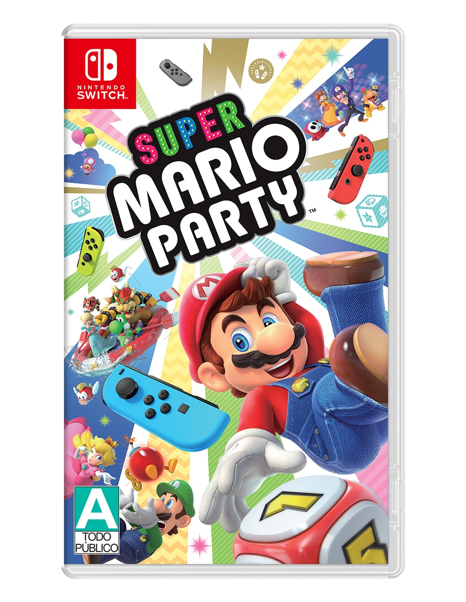 Super Mario Party Edición Estándar Para Nintendo Switch Juego Físico En Liverpool